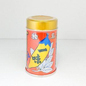 八幡屋礒五郎一味唐辛子 缶入