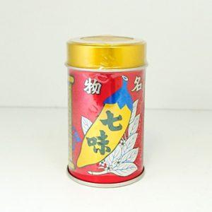 八幡屋礒五郎七味唐辛子缶入