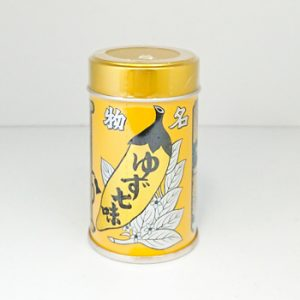 八幡屋礒五郎七味唐辛子缶入(ゆず入り)
